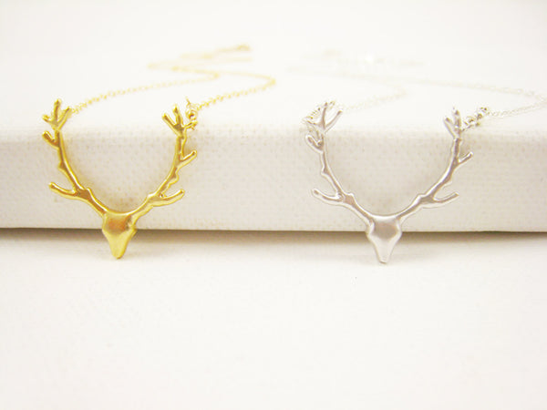 As Seen on Pretty Little Liars Gold Deer Necklace - Sienna Grace Jewelry | Pretty Little Handcrafted Sparkles