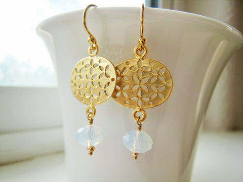 As Seen On TV Jane The Virgin Earrings Gold Version - Sienna Grace Jewelry | Pretty Little Handcrafted Sparkles