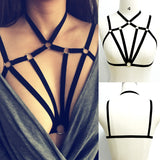 Cage Bralette With O-Rings