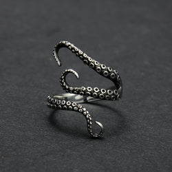 Deep Sea Gothic Cthulhu Squid Ring