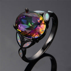 Rainbow Fire Mystery Ring