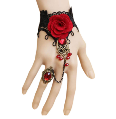 The Night Garden Single Finger Wrist Cuff