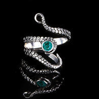 Deep Sea Gothic Cthulhu Squid Ring - With Rhinestone