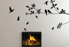 Crows Vinyl Wall Decal