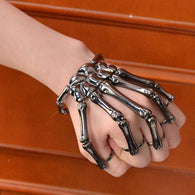Adjustable Skeleton Hand Bracelet