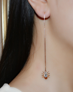 Dangling Spider Earrings