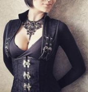 Buckled-Up Underbust Corset