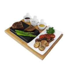 steak stone cooking set
