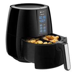 Titan X-1 Digital LCD Display Air Fryer with Rapid Air Fry Technology, Ultimate Healthy Multifunctional Cooker to Fry, Bake, Grill and Roast