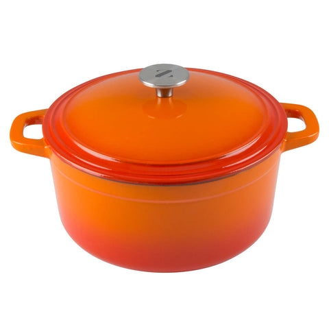 vibrant 3 quart dutch oven perfect for brazing and slow cooking simmer meals