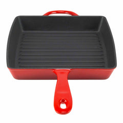 grill pan with long handle