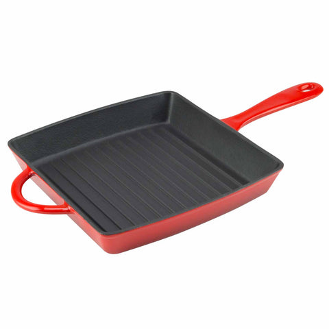 Enameled 10 Inch Grill Pan