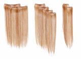 "16"" 8PC Straight Hair Extensions Kit"