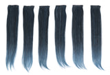 "23"" 6PC Straight Color Clip-in Hair Extensions Kit"