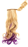 "23"" Color Splash Wrap Pony Hair Extensions"