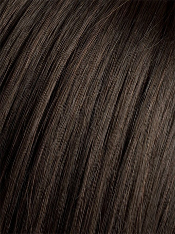 Color ESPRESSO-MIX = Darkest Brown base with a blend of Dark Brown and Warm Medium Brown throughout
