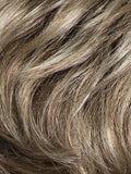 Color Sand-Multi-Rooted = Lightest Brown and Medium Ash Blonde Blend with Light Brown Roots