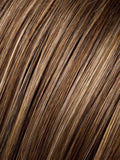BERNSTEIN/MIX | Medium Honey Blonde, Light Ash Blonde, and Dark Ash Blonde blend with Dark Roots