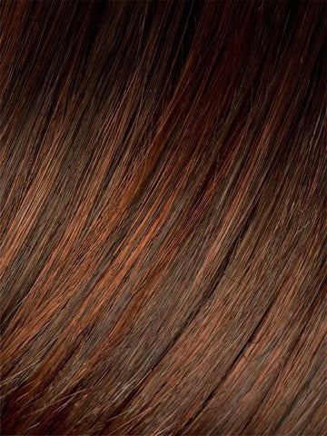 CINNAMON-ROOTED | Medium Brown, Bright Copper Red, and Auburn blend with Dark Roots