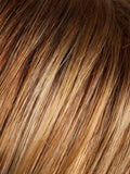 MANGO-ROOTED | Medium Copper Red, Copper Red, and Butterscotch Blonde Highlights