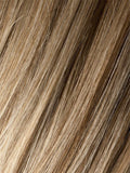 Color Sandy Blonde Rooted = Medium Honey Blonde, Light Ash Blonde, and Lightest Reddish Brown blend with Dark Roots