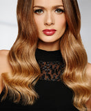 Raquel Welch Ten Piece Clip-in Extensions  Va va voom hair is just a few clicks away! Available in 2 different lengths – 14″ or 18″ – these clip-in extensions are the easiest way to get red carpet ready in seconds! The 100% human hair can be styled curly, wavy, or straight. This 10 piece set can add volume and body to long hair and length and fullness to shorter hair. Pair them with a bang or top of head piece for the ultimate in hair glam. Have fun by applying pastel or bright hues to R10HH.     100% Human