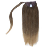 "16"" Human Hair Ponytail Wrap Hair Extensions"