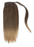 "16"" Human Hair Ponytail Wrap Hair extension"