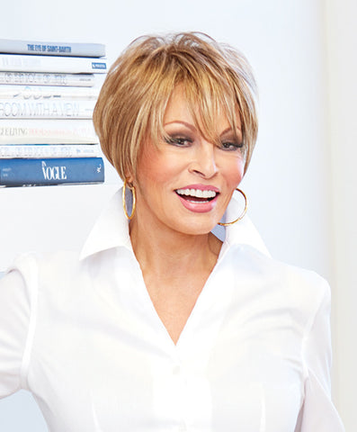 Raquel Welch Text-ure Me!  This short wig is long on details: the flattering freshness of a modern tapered crop. Lots of natural movement. A crown with lift and texture. A tousled sweepy bang. Ready for all the compliments?     Sheer Indulgence™ Lace Front Memory Cap® II Base Vibralite® Synthetic Hair