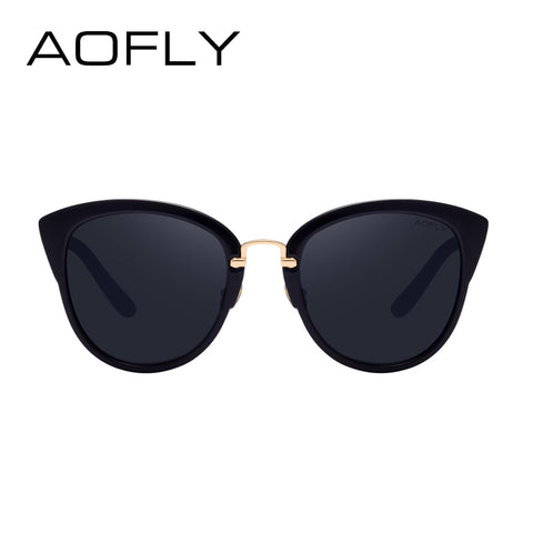 AOFLY Elegant Vintage Cat Eye Sunglasses For Women