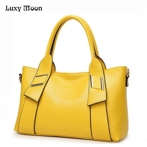Luxy Moon Big Leather Shoulder Bag for  Women