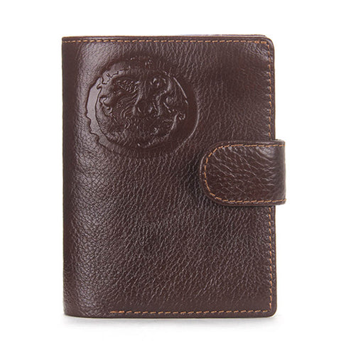 Passport Holder Wallet For Men - Genuine Leather