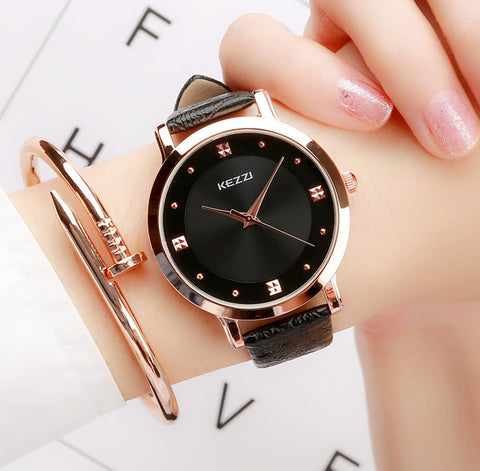 Luxury and Elegant Gold Women Watch