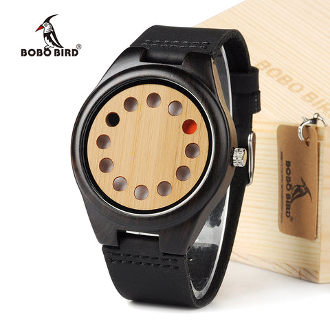 12 Holes Designed Watch For Men