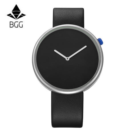 Minimalism Style Leather Watch for Women