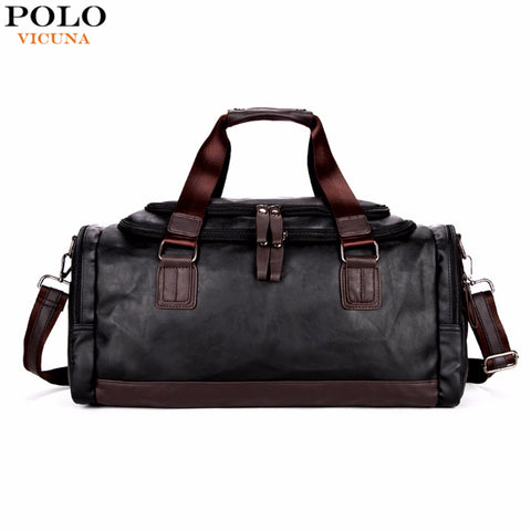 Travel Leather Luggage For Men