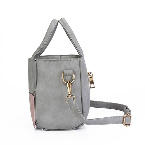 LEFTSIDE Casual Messenger and Crossbody PU Leather Bag for Women