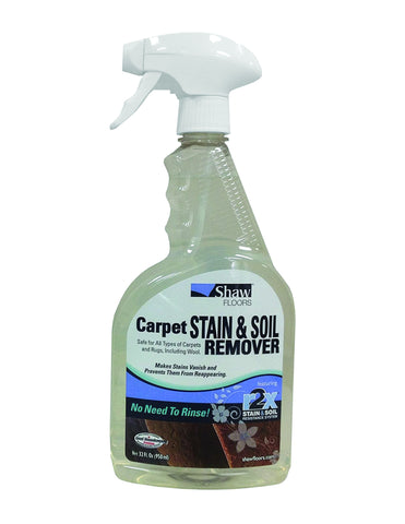 Stain & Soil Remover 32oz Spray Bottles [Case of 6]