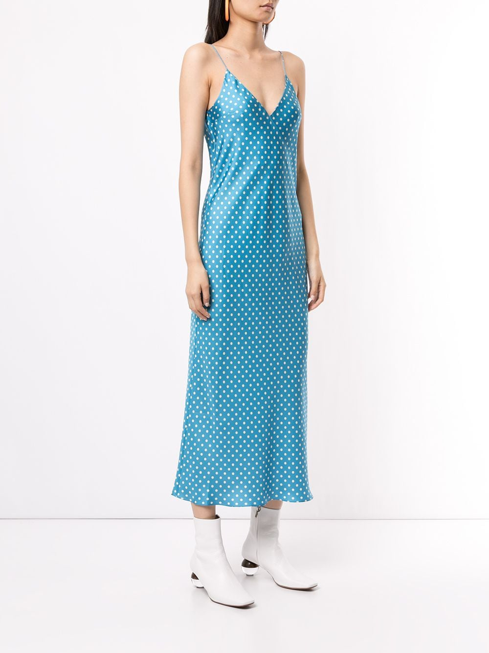 Walk of Shame Polka Dot Slipdress