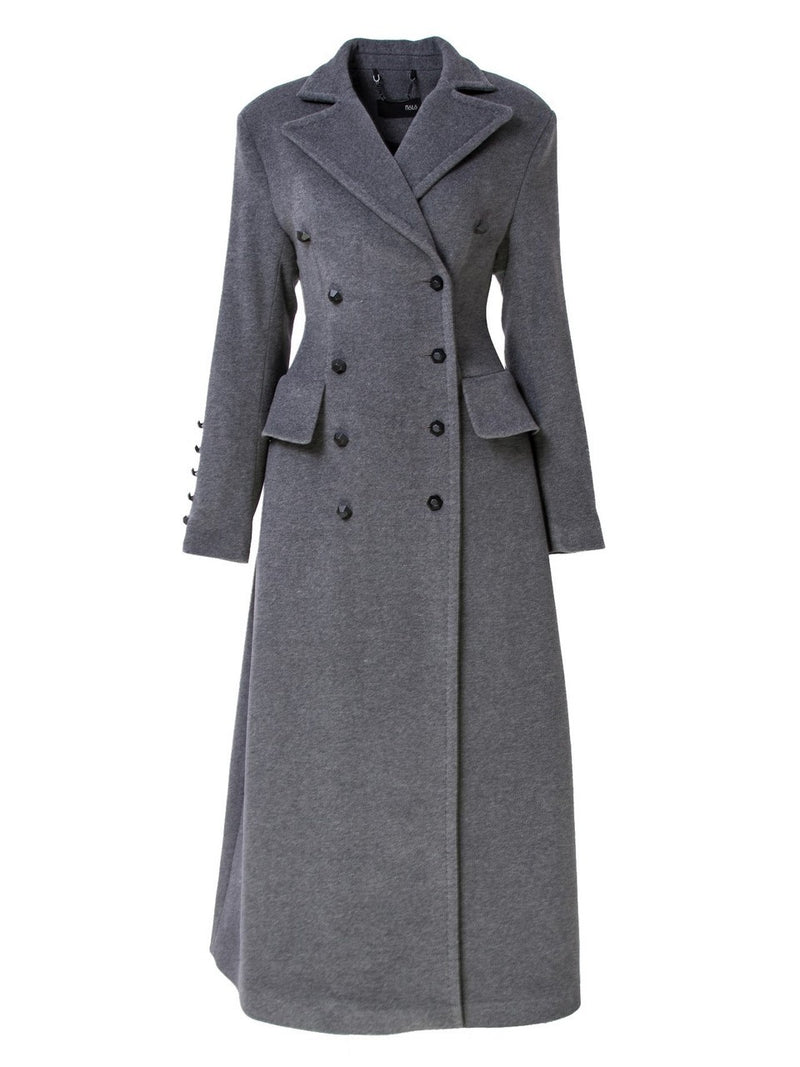 Nolo Double Breasted Long Coat
