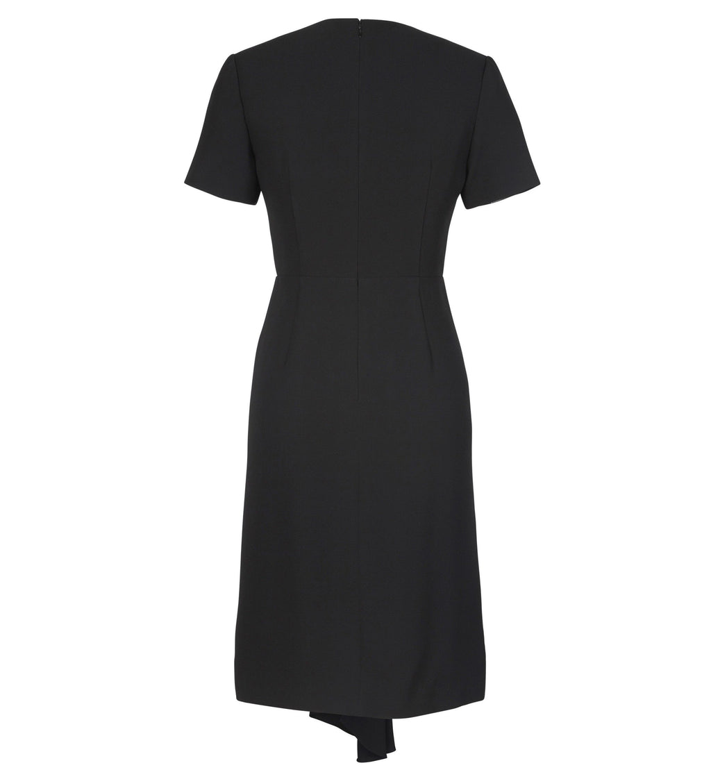 HAN Drape Detail V-Neck Dress