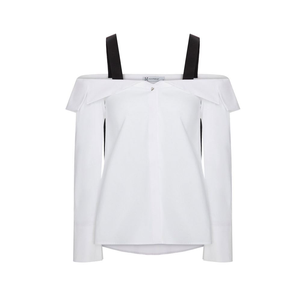 Mirimalist Off Shoulder Shirt