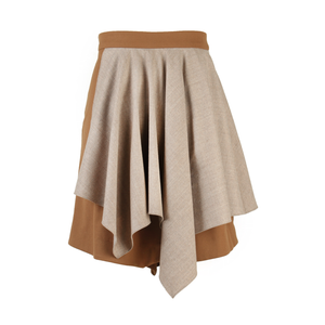 2WN Enid Two-tier Draped Skirt-Bottoms-DREEMS