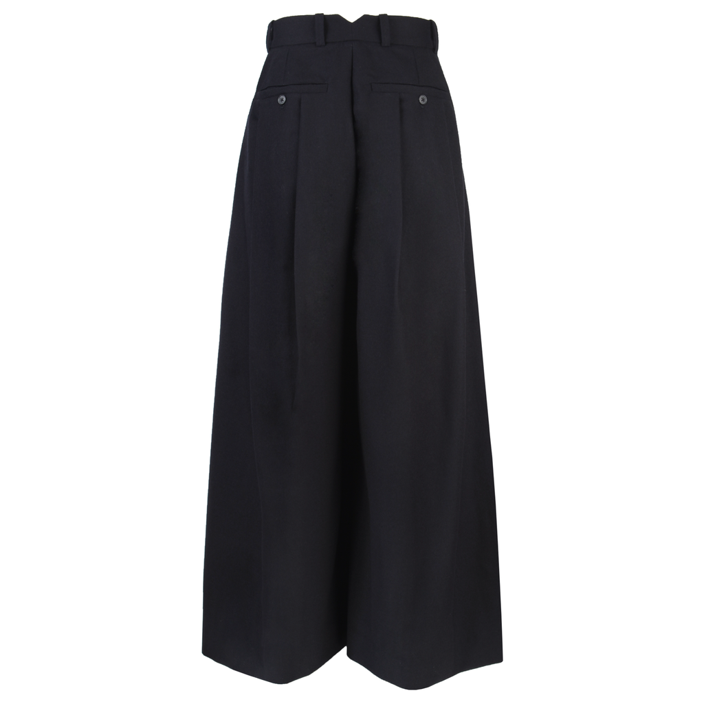 2WN Yuki Double Front Pleated Wide Leg Pants-Bottoms-DREEMS