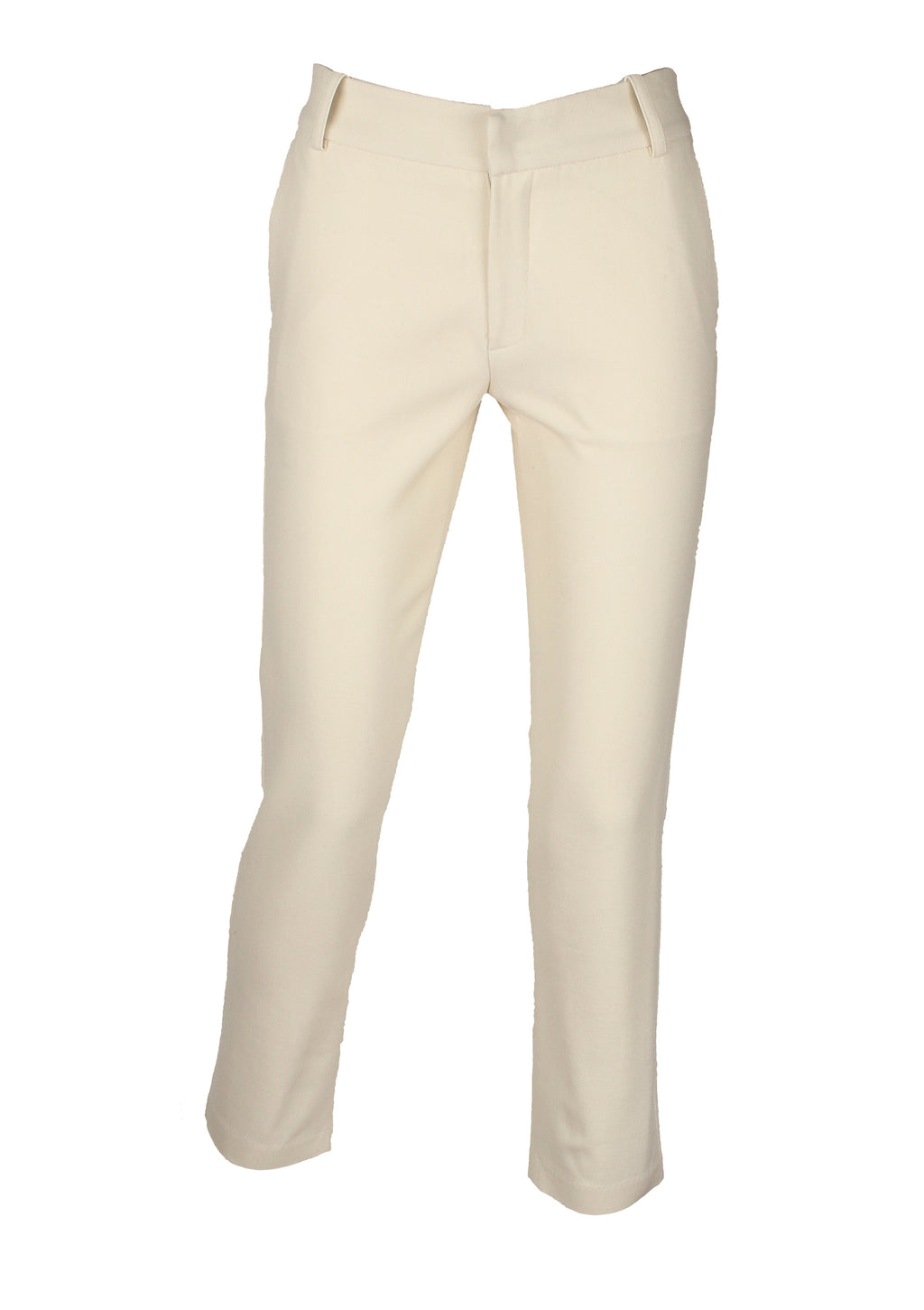 Monica & Mobline Washable Wool Pants White