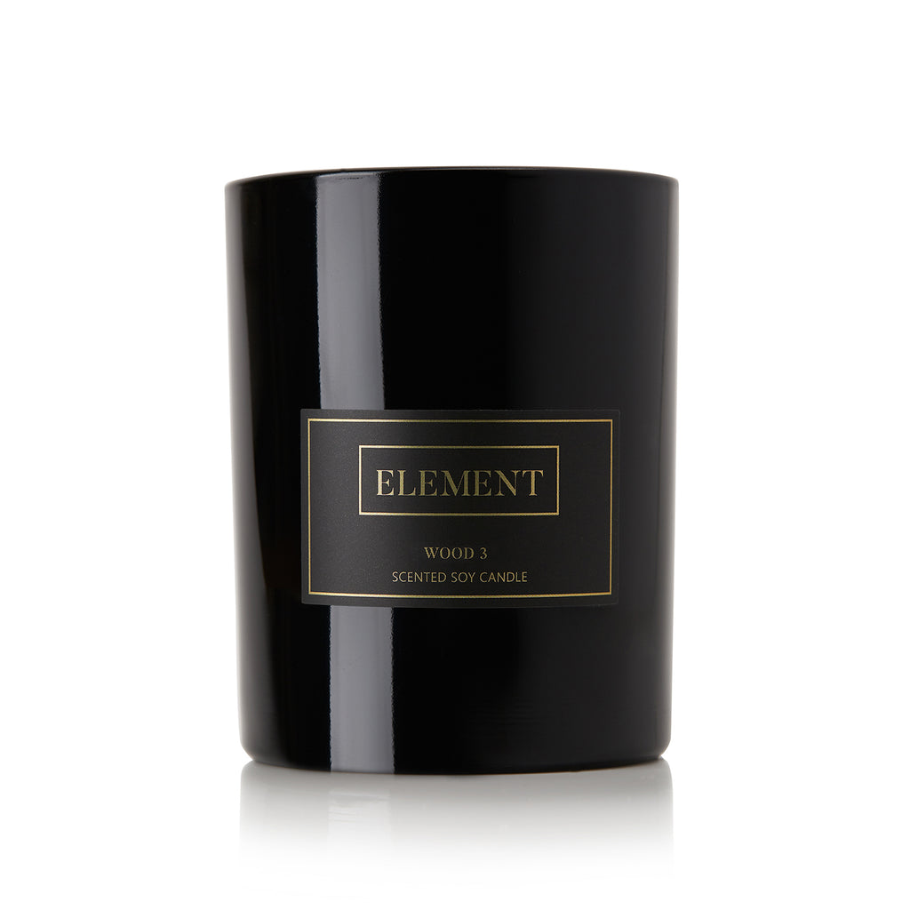 Element Candles Wood 3-Candle-DREEMS