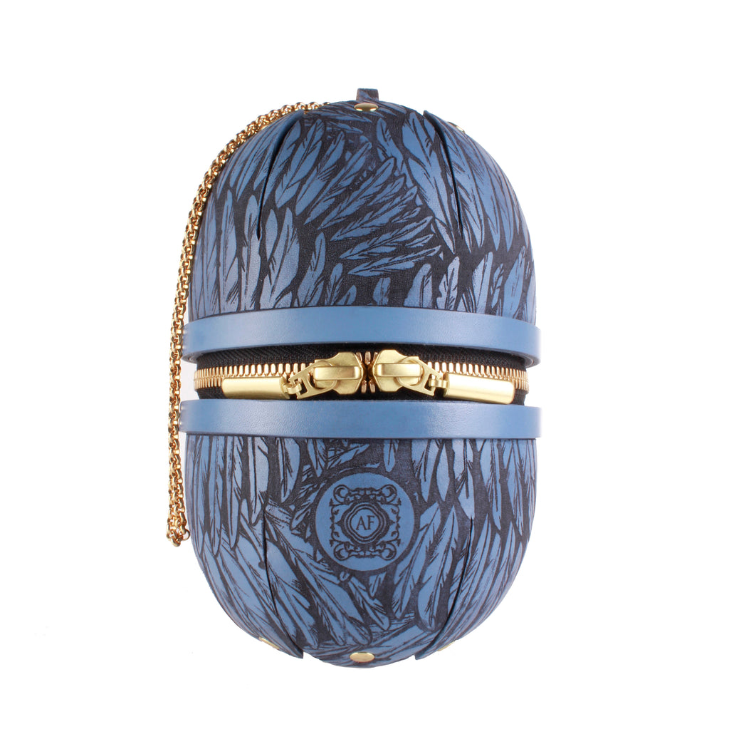 Phoenix Egg Bag Blue
