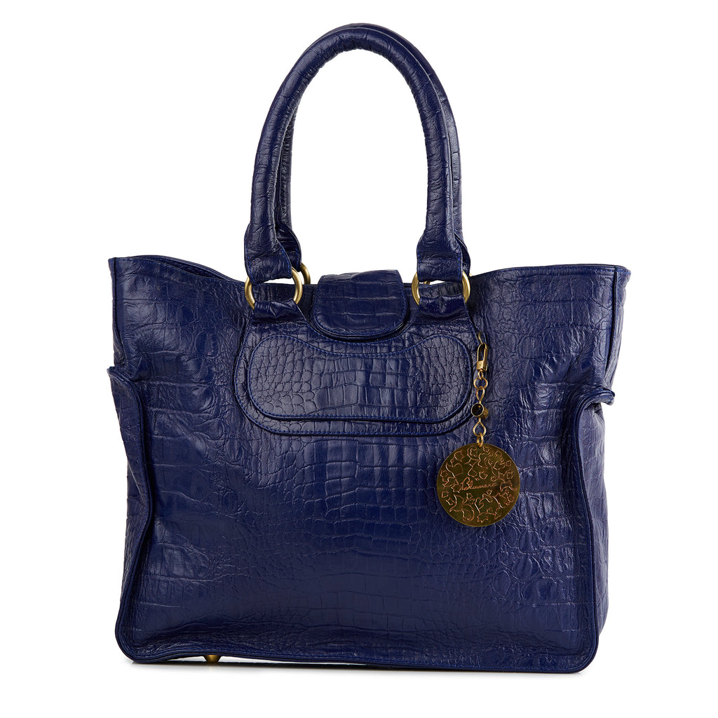Meheru Croco Embossed Bag