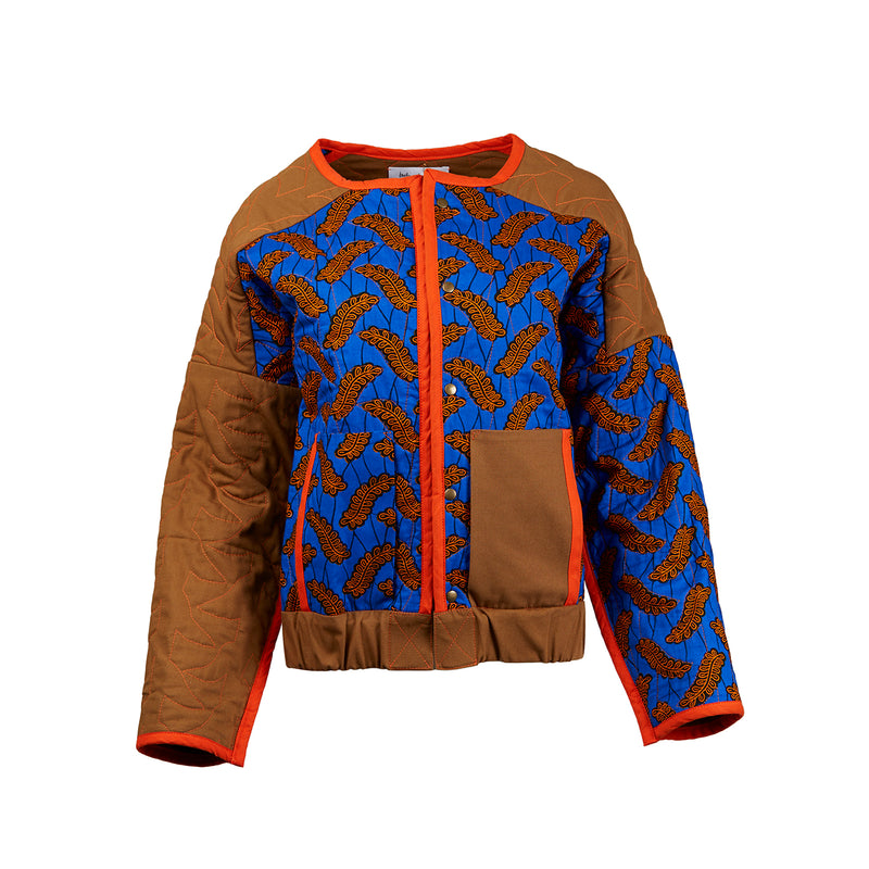 Reversible Quilt Bomber Jacket