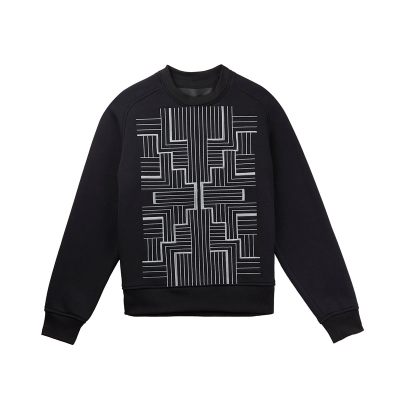 Common Ritual Rorshach Sweatshirt